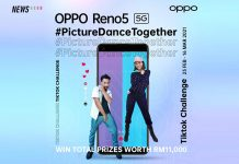OPPO Reno5, OPPO, TikTok, PictureDanceTogether