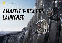 Amazfit T-Rex Pro Launch