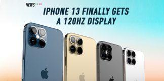 iPhone 13, 120Hz, Apple