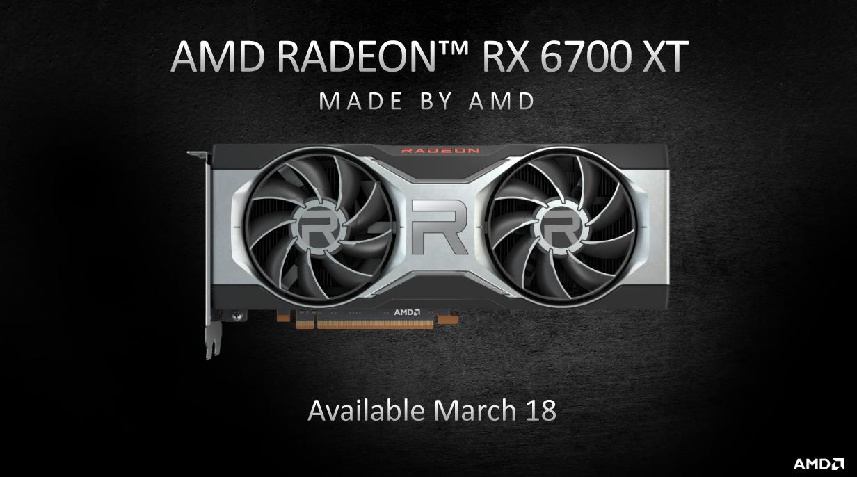 Radeon rx 6700 xt availability