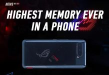 ROG Phone 5, ASUS, 18GB