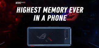 ROG Phone 5, ASUS, 18GB