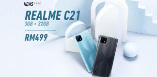 realme c21. realme