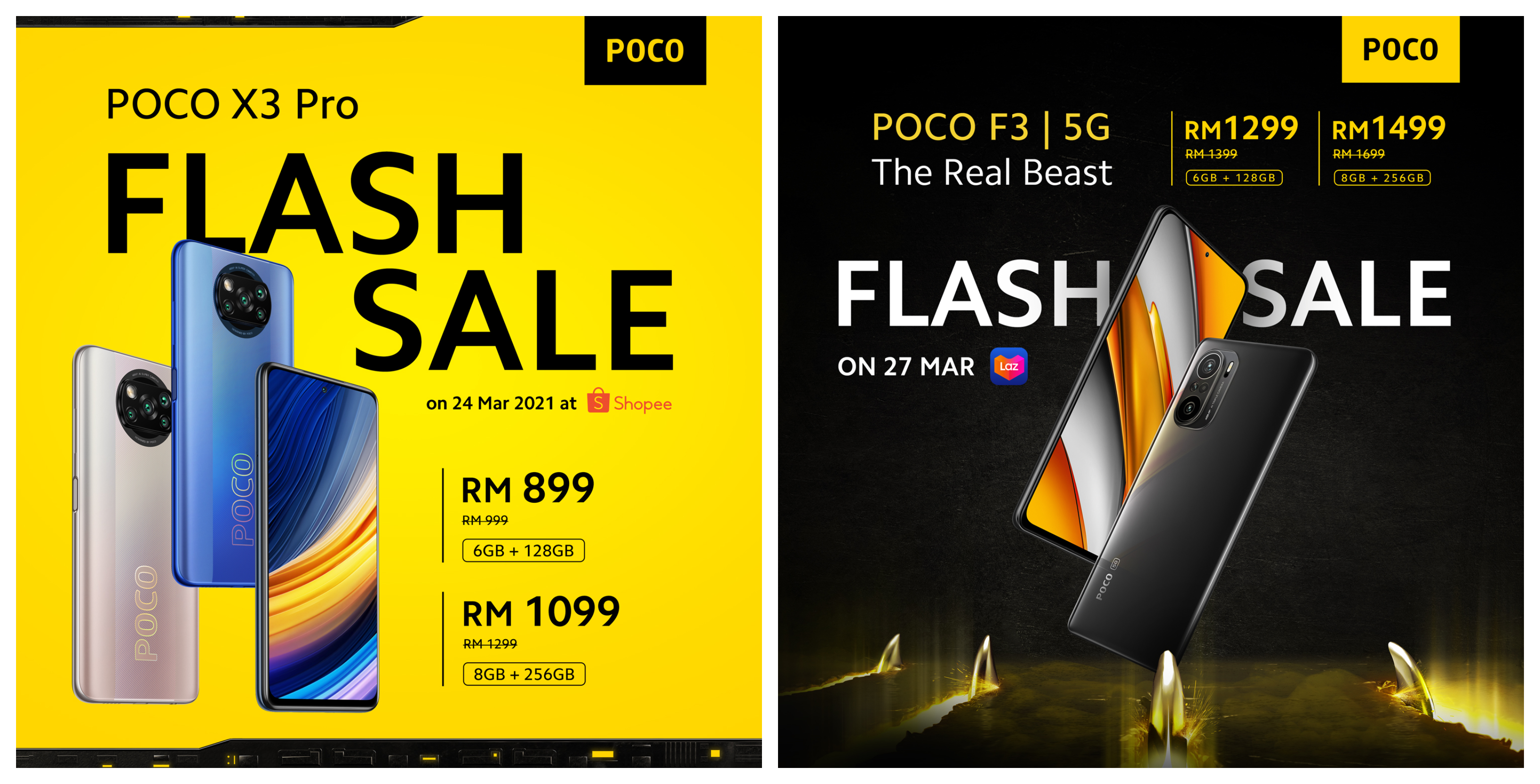 POCO F3 and POCO X3 Pro officially launched in Malaysia 3