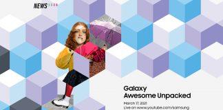 Galaxy Awesome Unpacked Event, Samsung, Galaxy A52. Galaxy A72