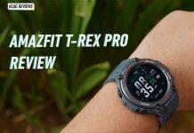 Amazfit T Rex Pro Review
