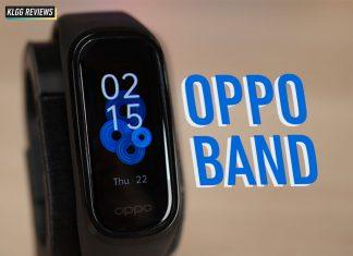 OPPO Band, OPPO, fitness tracker