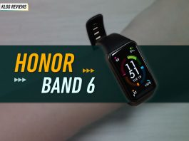 HONOR Band 6, HONOR