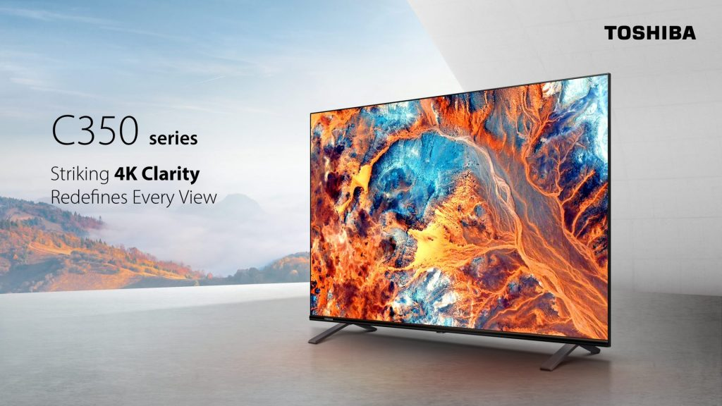 Toshiba TV makes a comeback with the new C350 & V35 series 13