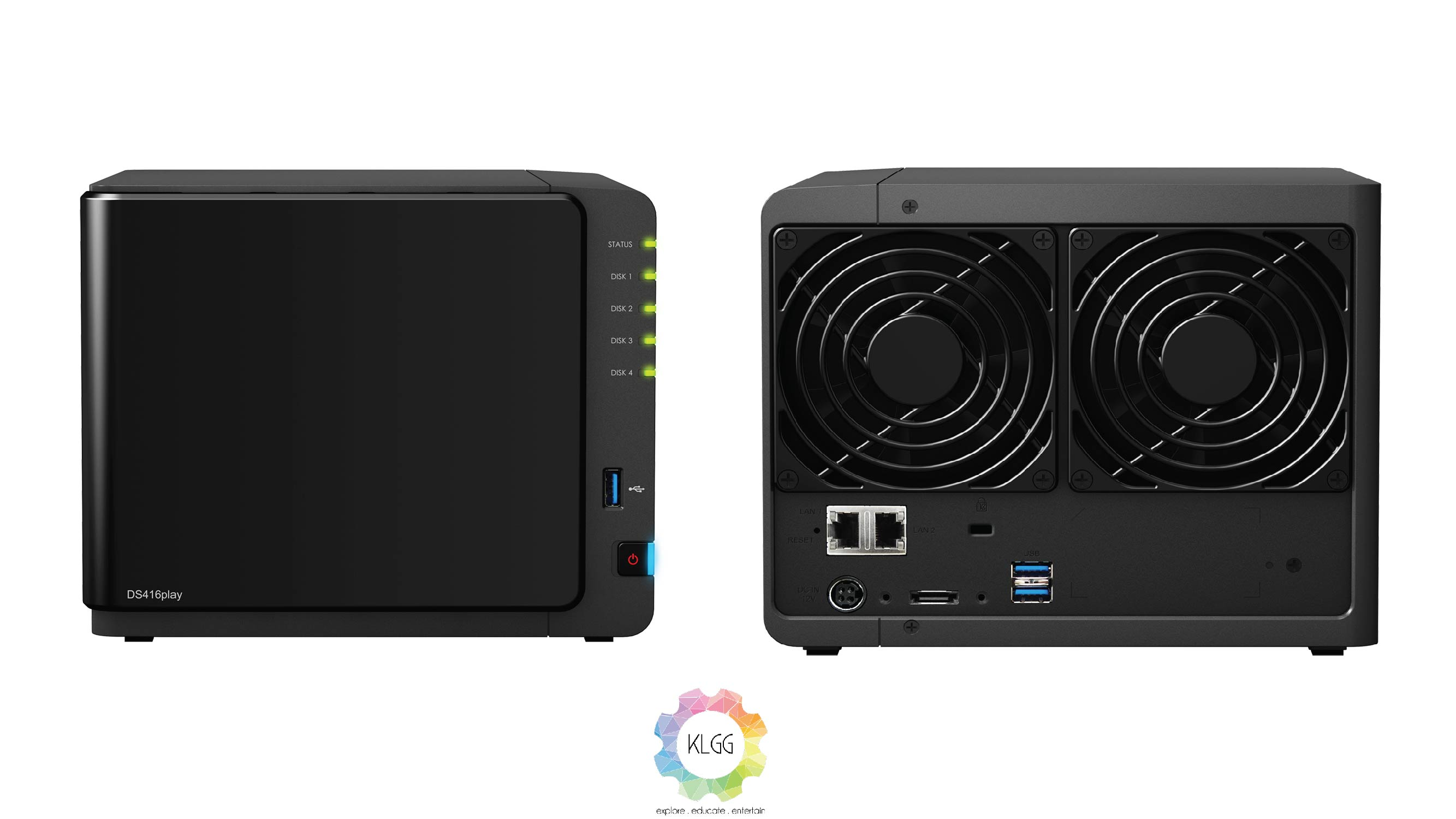 COMPUTEX 2016: Synology introduces new Intel powered DiskStation DS916+ and DS416play NAS servers 1