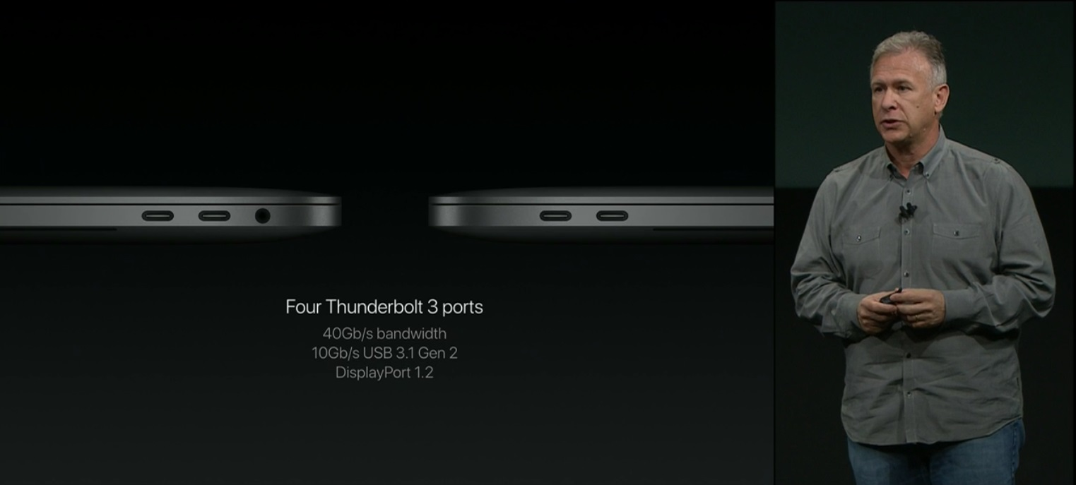The new Macbook Pro has a cool Touch Bar 3